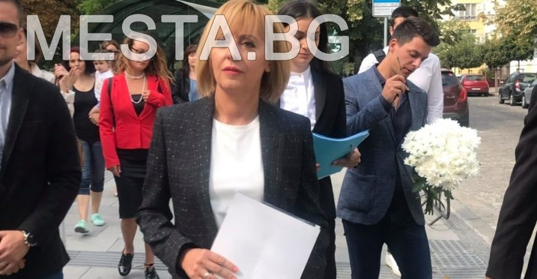 Мая Манолова кандидат кмет