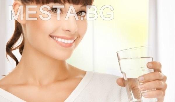 топла,вода,пиене