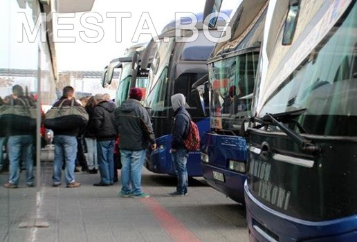 автобуси,автогара,туристи,пътуващи,гоце делчев,места.бг