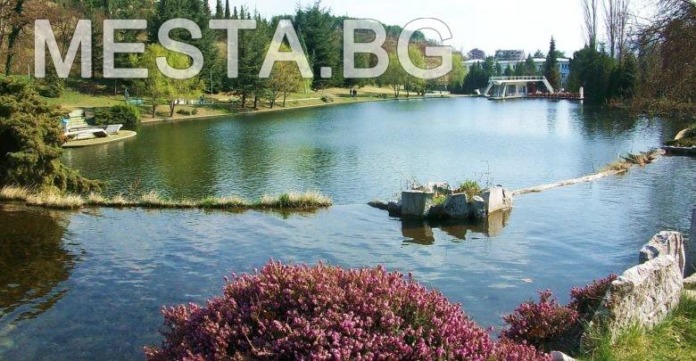 парк свети врач,сандански,вода ,езеро