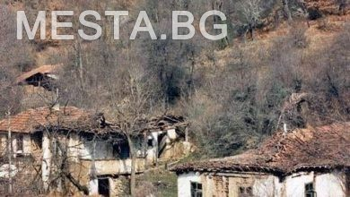 село Бураново,стари къщи,